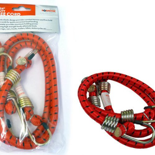 "2pc Bungee Cord 24""x1/2"""