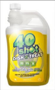 40 Shot Dish n Treat