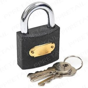 50mm Cast Iron Padlock
