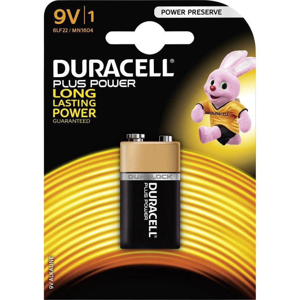 9V/1 Duracell Battery