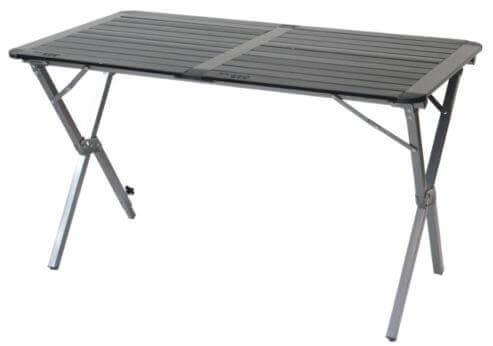 Alumin Roll Top Double Table