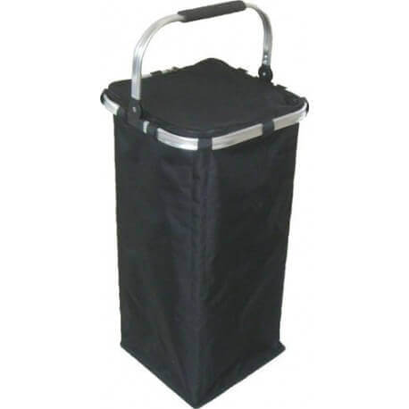 Black Collapsible Laundry Basket