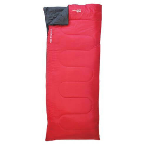 Comfort 200 - Red Sleeping Bag
