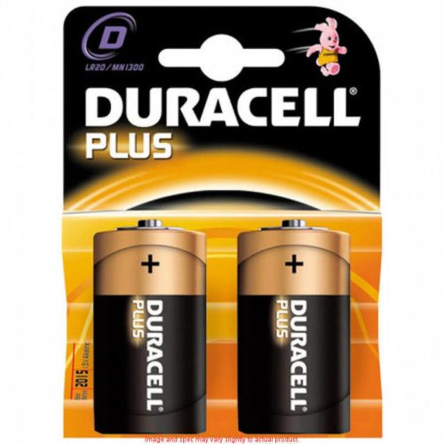 """D"" Cell Duracell Batteries"