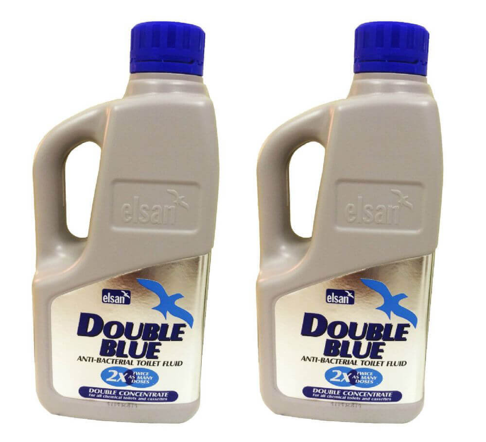 Elsan Double Blue 1L x2