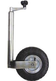 heavy duty pneumatic jockey wheel