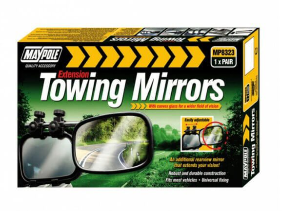 maypole extention towing mirror