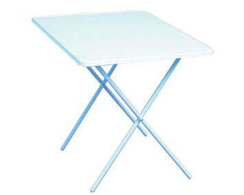 Meldon Table. Easy Clean Camping Table. L80xW60xH60cm