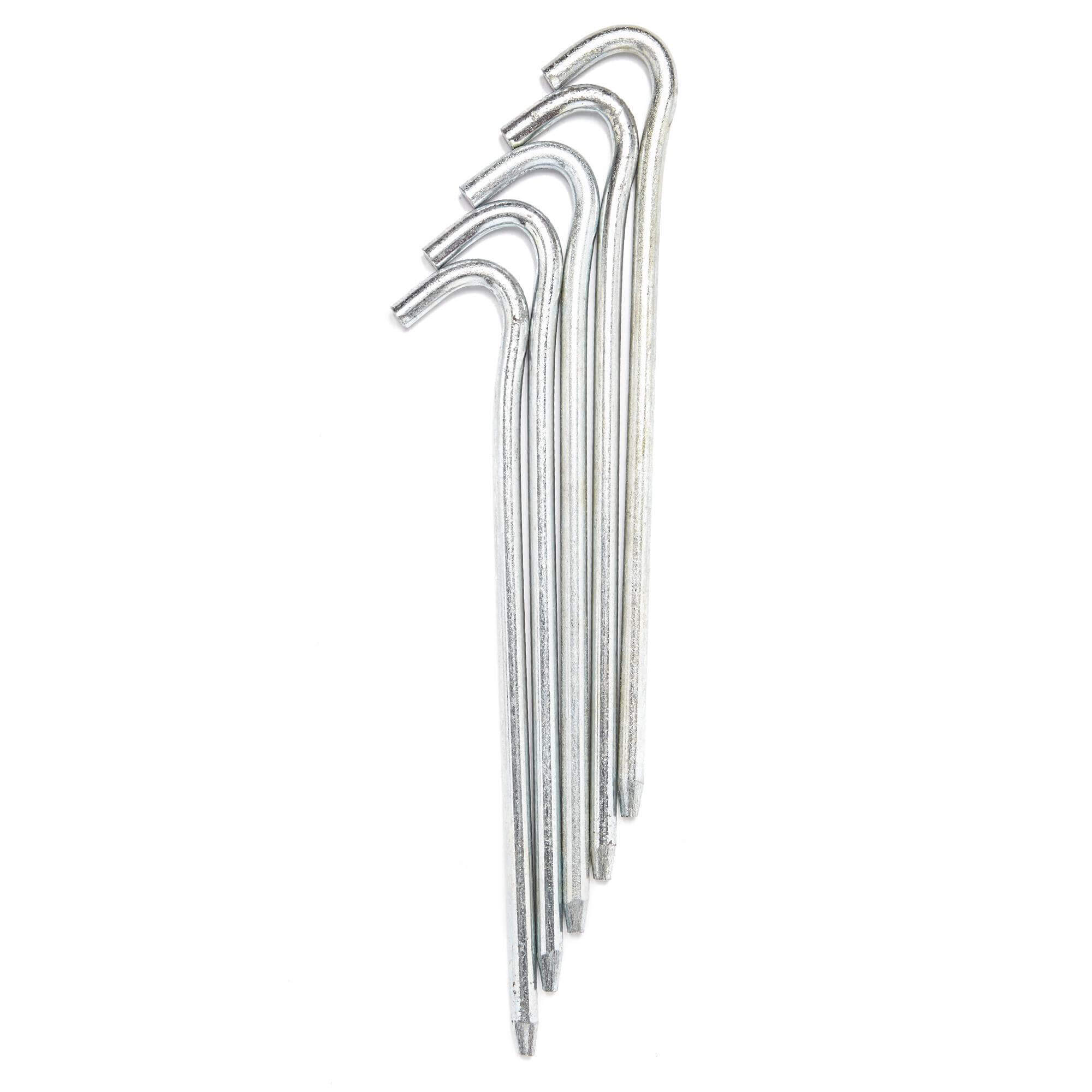 Small Steel Tent Pegs