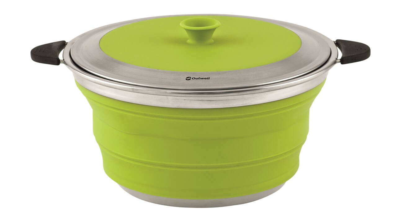 Collapsible Pot With Lid 4 5 Chase Outdoors